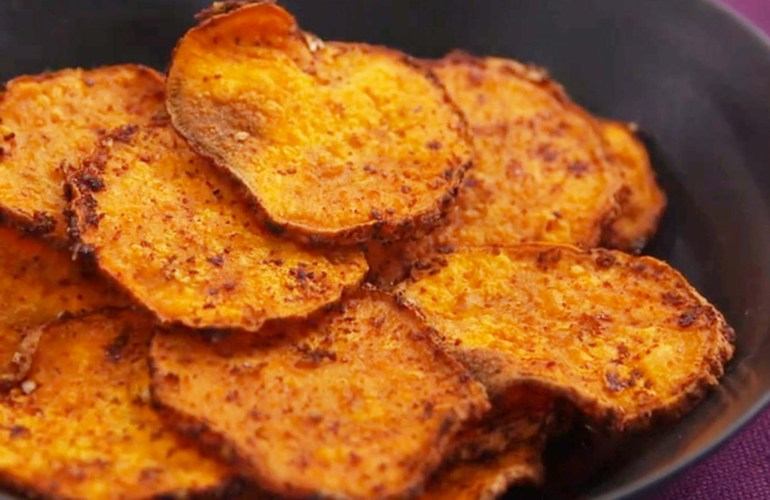Chipsuri din cartofi dulci