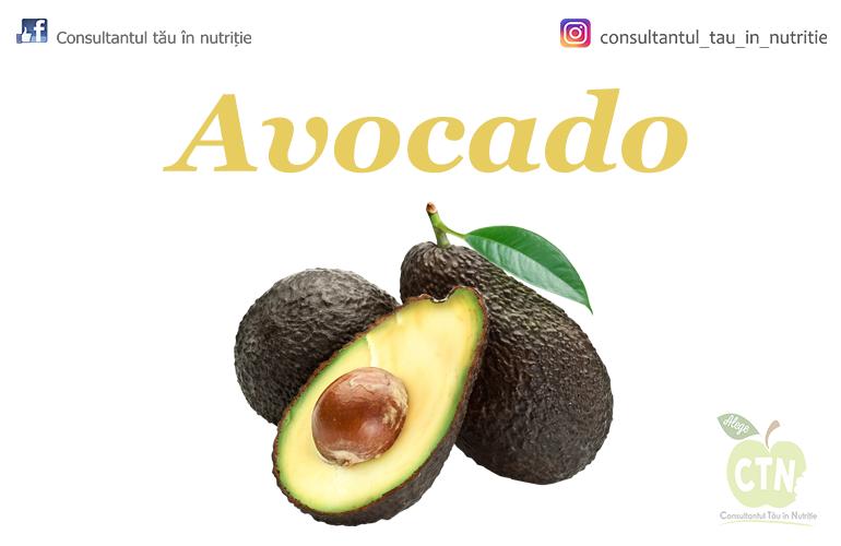 Avocado- super-alimentul ce nu poate lipsit din alimentația ta